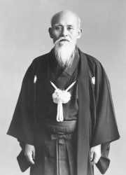 Morihei Ueshiba - Aikido founder/master