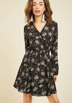 Distinctive Determination Long Sleeve Dress, #ModCloth