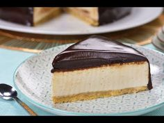 This condensed milk cake covered in chocolate on a base of milled biscuits is spectacular, the creamy condensed milk filling has the perfect and smooth flavor that everyone will love. Quick Lunch Recipes, Fun Easy Recipes, Condensed Milk Cake, Baking Recipes, Dessert Recipes, Spanish Desserts, Custard Desserts, British Baking, Fondant Cakes