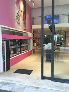 lucy pink stores  #lucypink #athens #cosmetics #bodycare #facecare Face Care, Body Care, Athens, Cosmetics, Store, Room, Pink, Home Decor, Bedroom