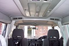 Mitsubishi Delica Owners Club UK™ :: View topic - curtain rail that divides the front seats from the rear.