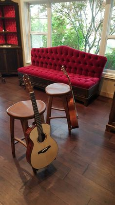 Guitar stool stand. Joel Paul Design                                                                                                                                                     More