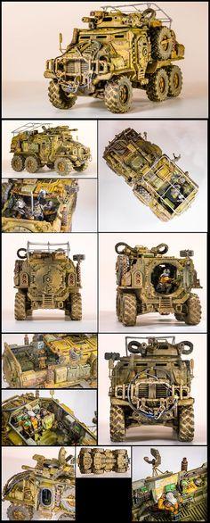 Astra Militarum - Taurox Prime