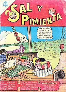 SAL Y PIMIENTA - AÑO II - Nº20 Vintage Comic Books, Vintage Comics, Vintage Toys, Vintage Posters, Sweet Memories, Childhood Memories, Comics Mexico, Betty Boop, Rainbow Brite
