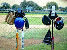 The DOM is a dugout organizer that hang all of your Softball and Baseball equipment.