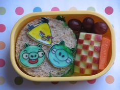Bento for Kidlet: Angry Birds Attack! Bento