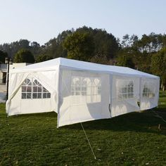 10'x30'Canopy Party Outdoor Wedding Tent Heavy duty Gazebo Pavilion Cater Events