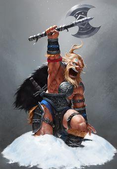 barbarian :), SYAR . on ArtStation at https://www.artstation.com/artwork/barbarian-1c66f3fc-e89d-45fb-b81f-419db55c9af9