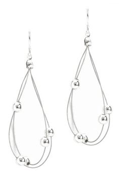 Sharp-looking earrings from Christopher & Banks!