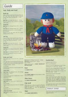 Free ISSUU PDF download tool online | Vebuka.com Knitting Dolls Free Patterns, Teddy Bear Knitting Pattern, Christmas Knitting Patterns, Knitting For Kids, Knitting Projects, Baby Knitting, Knitting Toys, Knit Patterns, Knitted Nurse Doll
