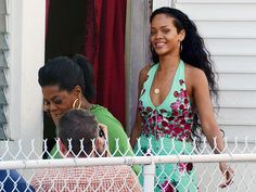 "Rihanna plays tour guide to Oprah Winfrey in Barbados on Sunday, where the singer gave the talk show host an exclusive look at her hometown for an upcoming interview airing on Oprah's Next Chapter. ""Look who popped up in my Hometown BARBADOS #topnotch,"" the singer posted on her Instagram account"