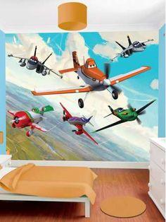 Disney Planes Wall Mural