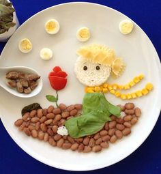 Creative Mom Turns Her Kids Food Into Works Of Art