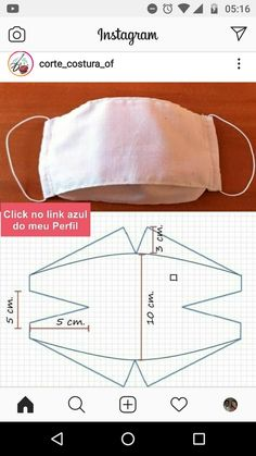 Sewing Paterns, Sewing Stitches, Easy Face Masks, Diy Face Mask, Sewing Machine Projects, Diy Couture, Blouse Neck Designs, Diy Mask, Fashion Face Mask