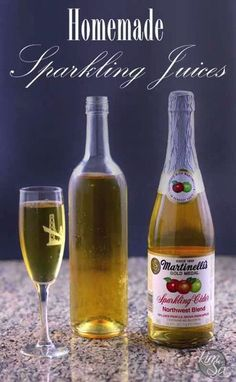 How to Make Your Own Sparkling Juice. for mere pennies! Make Your Own, Make It Yourself, How To Make, Sparkling Grape Juice, Breakfast Juice, Juicing Benefits, Health Benefits, Juice Concentrate, Cooking