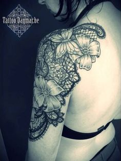 45+ Lace Tattoos for Women « Cuded – Showcase of Art & Design