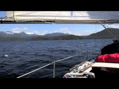 Sailing The Inside Passage: Part 4 - aboard Magie, a 27 foot Catalina.