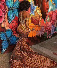 Womens Clothing/ Ankara Long Gown for Women/ Dashiki Floor Length Prom Dresses/ Wedding Guests Clothing/ African Traditional Wedding Outfit Womens. Ankara Wedding Styles, Trendy Ankara Styles, Ankara Gown Styles, Ankara Dress, African Attire, African Wear, African Women, African Dress, African Style