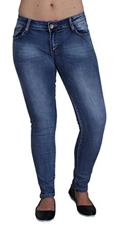 Primtex Jean Femme bleu clair skinny stretch taille haute effet Jean skinny  gainant-42   Jeans femme in 2019   Pinterest 558c1167bcd8