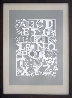 papercut, looks like the style of Julene Harrison,. Typography Love, Typography Letters, Lettering, Paper Art, Paper Crafts, Cut Paper, Painted Letters, Paper Letters, Paper Cutting Templates