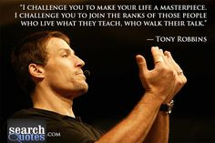 #tony Robbins  #challenge #life  #inspiration  For more quotes visit www.searchquotes.com