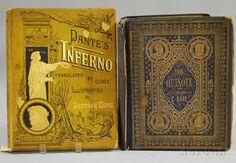 Two Gustave Dore Illustrated Books Dantes Inferno, Dante Alighieri, Don Quixote, Book Nooks, My Books, Reading, Inspiration, Personality, Illustrations
