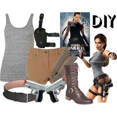"""Tomb Raider Lara Croft"" by effyeahclothes on Polyvore"