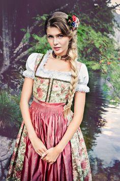 "Lena Hoschek Tradition S/S15 ""Dirndl Rosamunde"" www.lenahoschek.com"