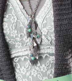 Leaf Dangle Necklace