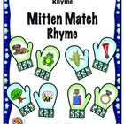 Mitten Match- Rhyme