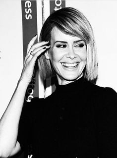 Sarah Paulson on fleek — poeteyes:   I'm in a Sarah Paulson mood. Wait I'm...