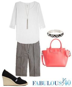 Look chic in preppy Bermuda shorts | Fabulous After 40