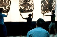 A visitor is witnessing Large Shadow Puppetry or Sbaik Thom being taught. Sbaik Thom is a centuries-old shadow puppetry form unique to Cambodia. Want to learn more about Cambodia's amazingly rich culture? Cambodian Living Arts (CLA) is offering a cultural trip to Cambodia next January. Learn more: http://www.cambodianlivingarts.org/experience/cultural-trip-to-cambodia/ #Cambodia #culture #arts #travel