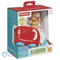 Fisher Price Aapjes auto: rood -  Koppen.com
