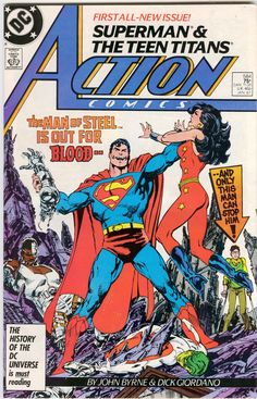 "comic+books+covers | Crazy Comic Cover: Action Comics #598 ""Squatter"" - Comic Book Daily"