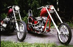 Choppers #motorcycles