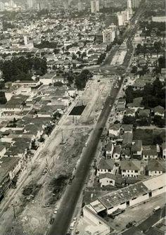 Avenida Faria Lima Ano: 1970 Autor: desconhecido // São Paulo em Preto & Branco: Abril 2015