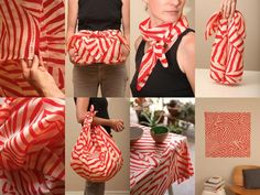 My current obsession: Furoshiki. I love this one on Apartment Therapy...