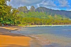 Anahola Beach, Kauai, Hawaii. Photo by Doug Porter #kauai #anahola
