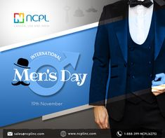 Happy Men's Day to all men who are wise, sensitive, loving, caring and supportive. You are cared for and appreciated!! #InternaltionalMensDay #KeepSmiling #ncplinc