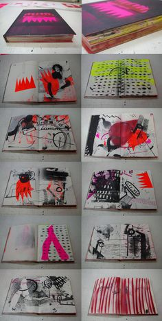 ARTBOOKS by LONG MUZZLE, via Behance