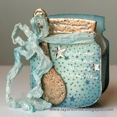 Bright Star Baby Jar - Layers of ink