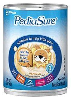 Pediasure Complete, Balanced Nutrition Ready To Use (Vanilla) 8-Fl-Oz Can - 1 Case Of 24