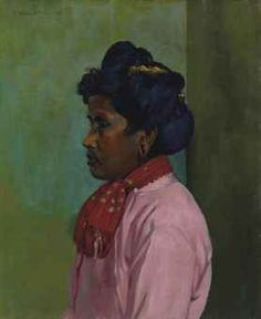 Felix Vallotton - Nabi Period - Black Woman with pink Shirt