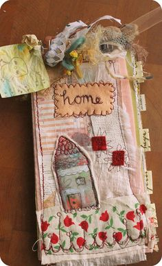 home is where the art is - original journal by timssally, via Flickr