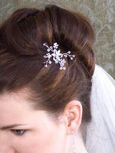 floral hair jewelry