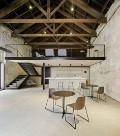 Posito Pesquero of Santa Pola refurbishment, Alicante, arn Arquitectos Loft Design, Modern House Design, Home Interior Design, Interior Architecture, Interior Modern, Room Interior, Industrial Living, Industrial Style, New Homes