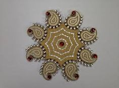 Acrylic Designer Rangoli 42 Home Decor Festive Diwali Deepawali . Acrylic Rangoli, Rangoli Designs, Diwali, Wedding Gifts, Marriage, Bling, Brooch, Festive, India