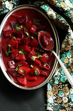 Beetroot and Potato Curry Recipe ~ http://www.monsoonspice.com/2013/08/beetroot-and-potato-curry-recipe-simple.html