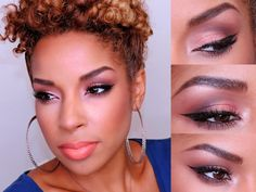 Beauty By Lee: How To | Rose Gold Smokey Eye..Fall Makeup